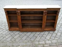 Break Front Bookcase Antique Walnut Breakfront Bookcase 115167 Sellingantiques Co Uk