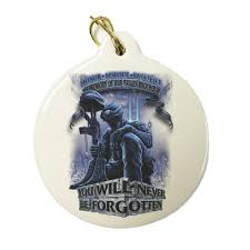 In Memory Of Keychains In Memory Of Our Fallen Brothers Christmas Ornament Memorial