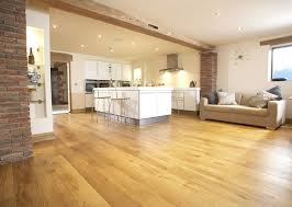 brushed character grade solid oak flooring
