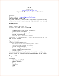 Job History Resume Many Years by Resume Computer Skills Free Resume Example And Writing Download