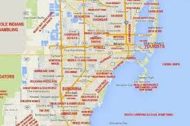 West Chicago Map by This Judgy Miami Map Will Offend Pretty Much Everyone Curbed Miami