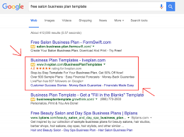 10 best images of salon sample business plan free pdf template 3