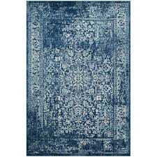 Safavieh Rugs Safavieh Evoke Black Gray 8 Ft X 10 Ft Area Rug Evk256r 8 The