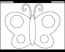 5 best images of printable traceable butterfly printable