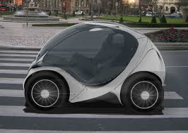 smallest cars tiny electric car folds up into itself for easy parking zdnet