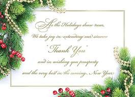 christmas thank you cards business staff christmas appreciation note images search