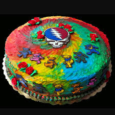 grateful dead cake birthday pinterest grateful dead