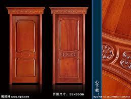 porte en bois de chambre porte en bois pour chambre à coucher