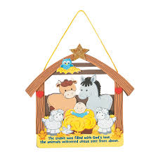 stable full of love sign craft kit orientaltrading com