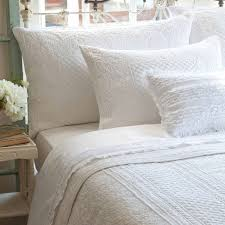 shop taylor linens abigail white bed linens the home decorating
