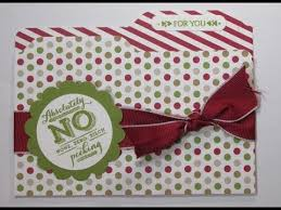 How To Make Punch Cards - how to make a file folder card with stampin u0027 up u0027s envelope punch