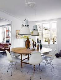 Eames Chair Dining Table White Eames Chairs And Dining Table The Fashion Medley