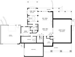 open space house plans extend your homes living space with a basement floor plan