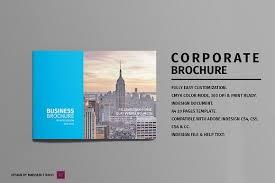 landscape corporate brochure brochure templates creative market