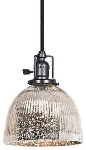 Replacement Glass Shades For Bathroom Light Fixtures by Ribbed Dome Mercury Glass Shade Pendant 3 Finishes Lamp Shades