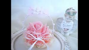 Porte Alliance Fleur Porte Alliance Rose Plume Pour Mariage Deco 053 Ring Pillow Rose