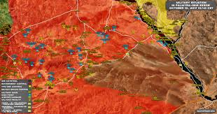 Syria Conflict Map Situation In Central Syria On October 10 2017 Map Update