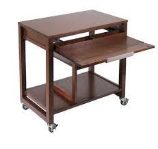 Small Computer Desk Wood Desks Wooden Computer Desk With Rollers L Shaped Computer Desk
