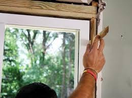 Patio Door Frames How To Install Sliding Glass Doors How Tos Diy