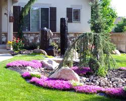 Backyard Flower Bed Ideas Landscaping Tropical Landscaping Ideas For Front Yard And