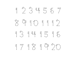 free worksheets trace the number 1 free math worksheets for