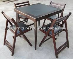Folding Dining Chairs Wood Wooden Folding Dining Chair Chair Pads Cushions