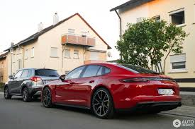 red porsche panamera there u0027s no way you can miss a red porsche panamera turbo s e hybrid