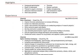 Chemistry Resume Example by Chemistry Resume Objective Reentrycorps