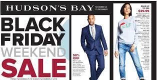 hudson s bay black friday cyber monday flyer sale deals 2016