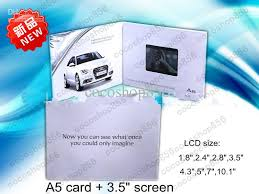 3 5 inch greeting cards creative digital electronic