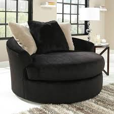 Swivel Accent Chairs by Heflin Ebony Oversized Swivel Accent Chair Chairs Living Room