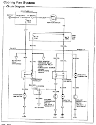 honda fan relay wiring diagram honda free wiring diagrams