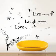 wall stickers uk wall art stickers kitchen wall stickers c2ww000019 com ws4012 classic live laugh love ws5036 butterfly vine