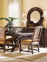 Colonial Dining Room Chairs Kilimanjaro Jacqueline Leather Hostess Dining Chair Lexington