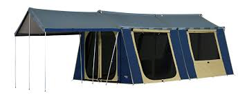 oztrail canvas cabin tent 15 x 12 kangaroo tent city and bbqs