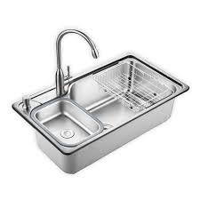 Online Get Cheap Kitchen Sink by Oversize 304 Stainless Steel Kitchen Sink Increase Thickness