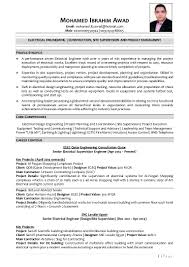 Sample Resume For Electrical Engineer In Construction Field by Electrical Engineer Mohamed Ibrahim Awad Cv