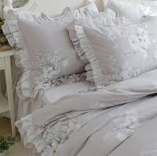 online get cheap floral ruffle bedding aliexpress com alibaba group
