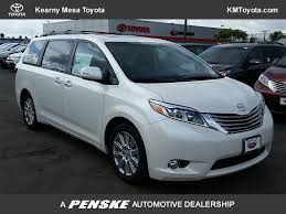2017 new toyota sienna limited fwd 7 passenger at kearny mesa