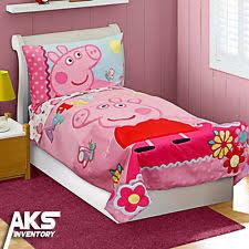 Peppa Pig Bed Set by Toddler Bedding Set Ebay