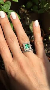 emerald stones rings images Emerald stone rings sterling silver 3 ct emerald cut black cz jpg