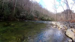 North Carolina rivers images Fishing for trout at river valley campground in cherokee north jpg