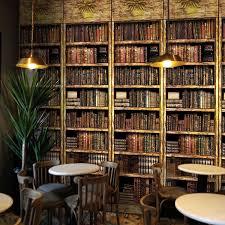 Bookcase Shop Aliexpress Com Buy Custom Photo Wallpaper 3d Bookcase Bookshelf