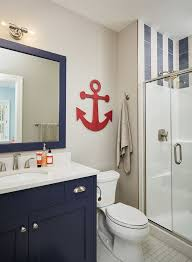 Red White And Blue Bathroom Best 25 Nautical Bathroom Mirrors Ideas On Pinterest Nautical