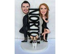 cute wedding topper for all the basketball fans out there getting