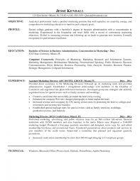 Resume Template Basic Best Resume Format For Marketing Manager Marketing Sample Resume