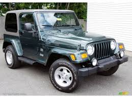 jeep sahara shale green metallic 2003 jeep wrangler sahara 4x4 exterior photo