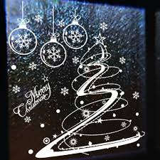 Window Decorations For Christmas by Aliexpress Com Buy Christmas Decal Flowers Christmas Decorations