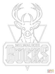 14 images of milwaukee bucks logo coloring page milwaukee bucks