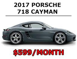 porsche cayman lease rates sun motor cars porsche promotions specials